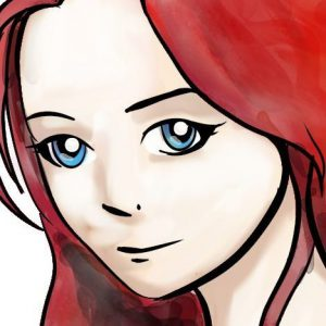 manga tutorial girl colour watercolor