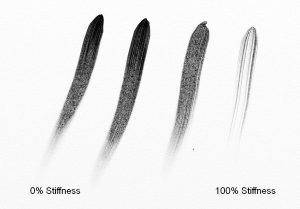 oil brush settings stiffness