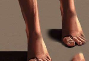 oil foot cloner artrage