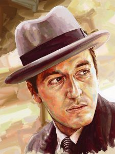 Michael Corleone pacino ArtRage artist Phil Galloway small