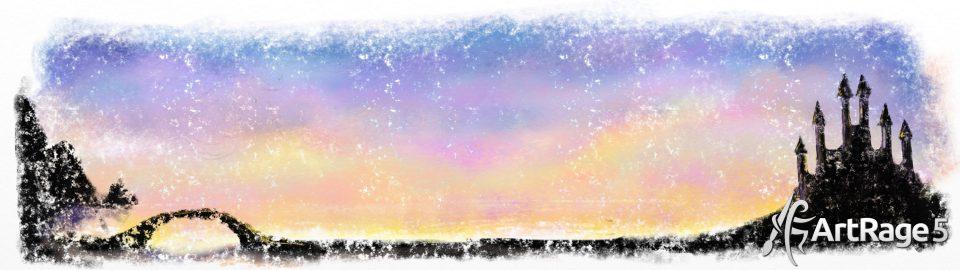 pastel sky artrage 5