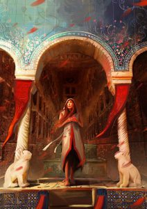 Persian Queen by Hassan Chenary
