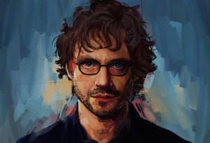 portrait of will graham by Lauren May