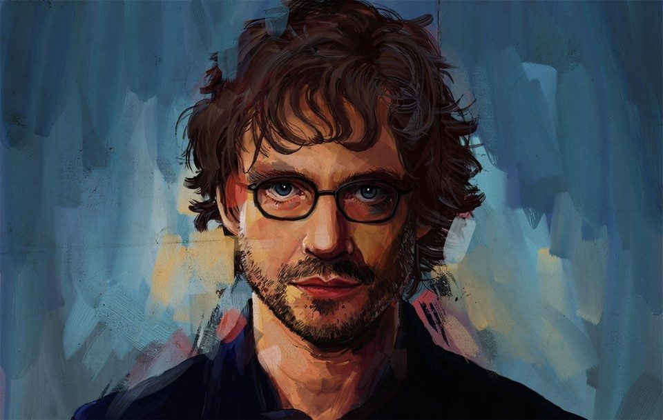 portrait of will graham by Lauren May