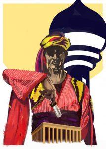 Poster Design on artrage by Batuhan Bayrak