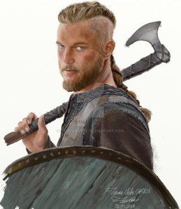 Ragnar Lodbrok (Lothbrok) from Vikings by Teoman Mete CAKICI