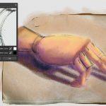 remove color matte filter hand sketch 5