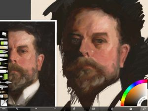 Sargent Study Screenshot 1 by Shelly Hanna