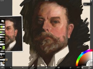 Sargent Study Screenshot 2 by Shelly Hanna