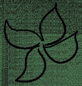 sketch pattern fill flower ink pen