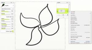sketch export layer