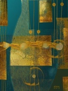 Listening to Hopkinson Smith 12x16 by Helene Goldberg