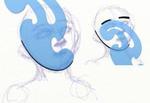 stencils sketch curves artrage 5
