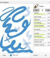 Custom Brush Designer Stroke Settings