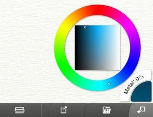 tint tone color picker ArtRage for iPad 2.0