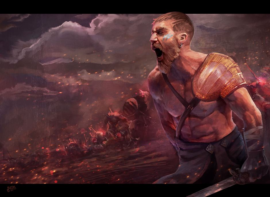 Total Warrior by Hassan Chenary