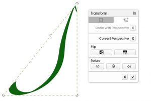 transform curve smooth line