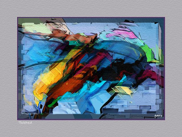 Twisted by Gary Hopkins ArtRage Artist