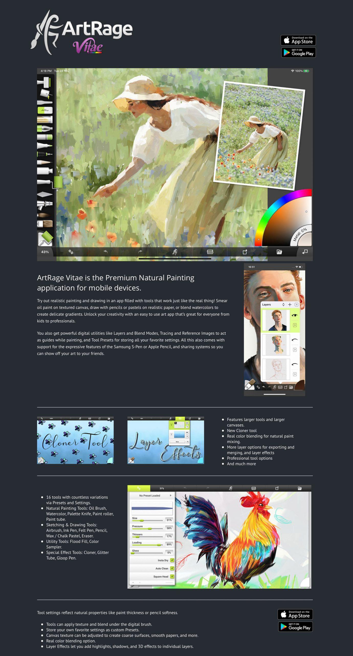 ArtRage Vitae Web Page